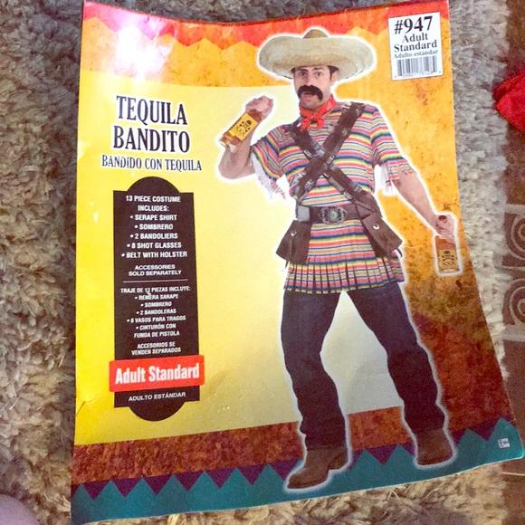 Size Standard New Tequilla Bandito Costume